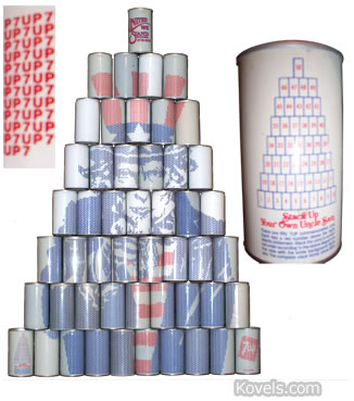 7up cans stack uncle sam