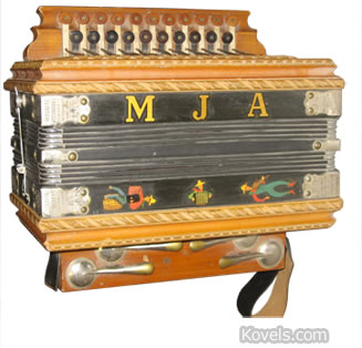 Imperial accordian MJA