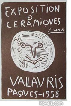 picasso 1958 exhibit poster
