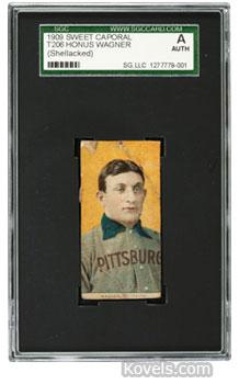 Honus Wagner T206 baseball card i