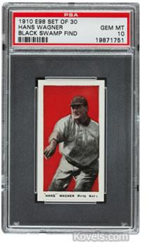 honus wagner 1910 baseball card