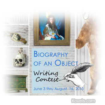 biography of an object writing contest garths auctioneers and appraisers