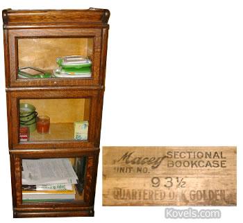 Macey Bookcase Kovels