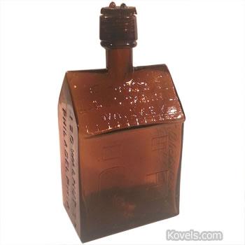 booz whiskey cabin bottle
