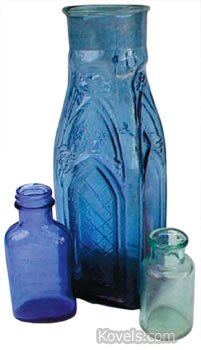 blue pickle bottle