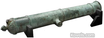 17th c qing dynasty cannon