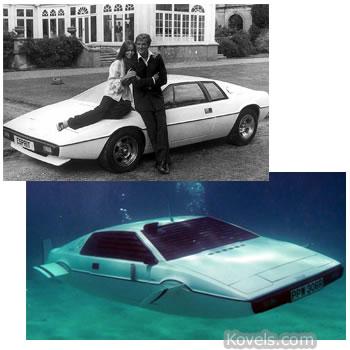 james bond lotus esprit submarine car