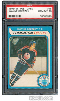 wayne gretzky hockey sports card