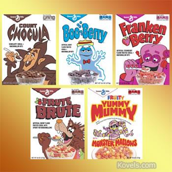 general mills monster cereal