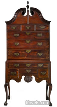 lieutenant colonel oliver arnold chest of drawers