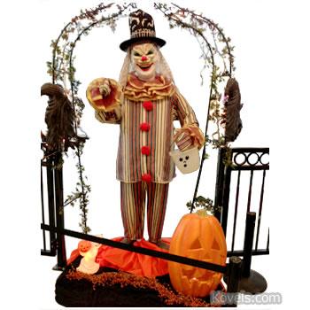 halloween clown decoration