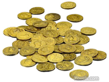 one million gold coins
