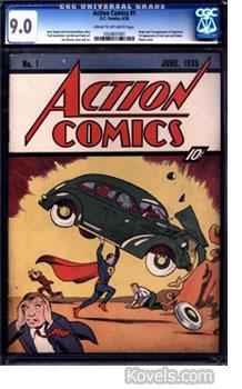 Superman comic 1928 issue 1 grade 9