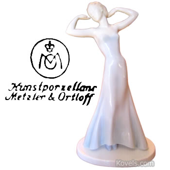 metzler & ortloff figurine