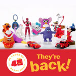 They Are Back – Favorite McDonald's Happy Meal Toys