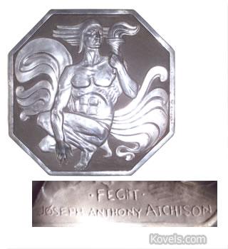 joseph atchison metal plaque