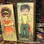 Children with Big Eyes Paintings