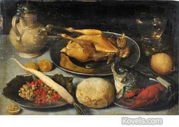 flemish 1650 still life painting