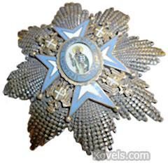 russian serbian medal pin