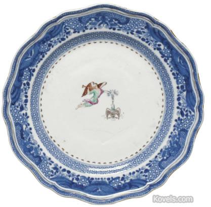 society of cincinnati plate