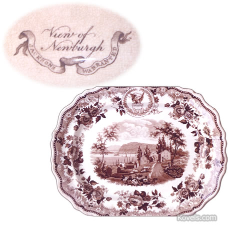 jacksons warranted porcelain platter