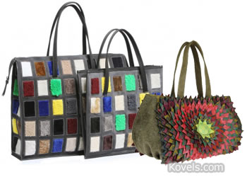handbag purse recycled trash garbage