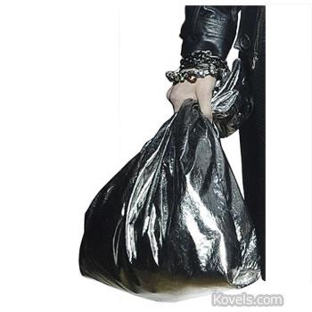 trash bag purse