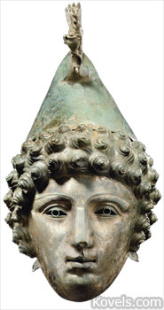 second-century Roman helmet