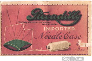 Picadilly Imported Needle Case