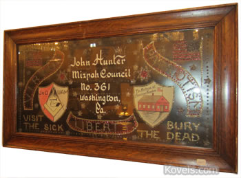 mizpah council no. 361 sign John Hunter