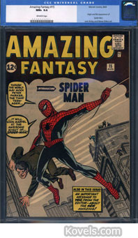 spiderman comic 15 amazing fantasy