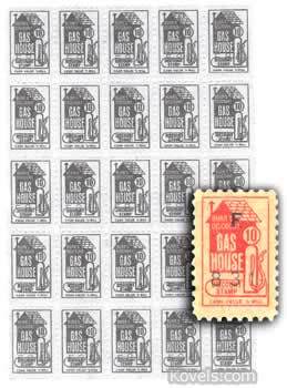 burrs discount gas house trading stamp