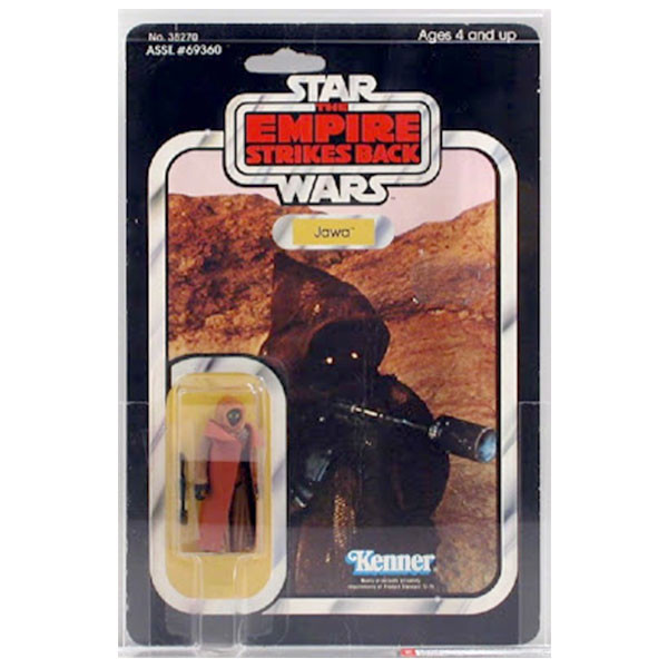 jawa vinly cape toy figure star wars the empire strikes back