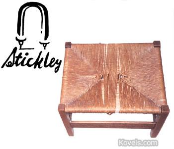 gustav stickley foot stool