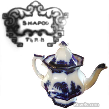 shapoo t and r b teapot