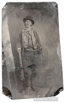 billy the kid tintype
