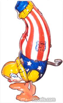 chein clown windup toy