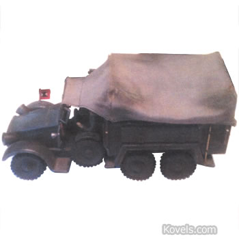 hausser toy army truck
