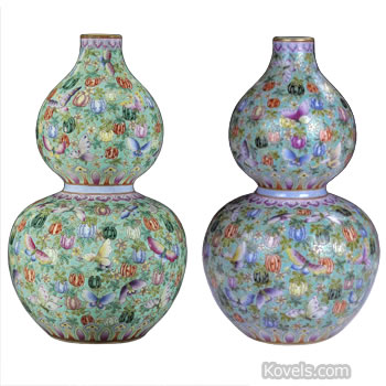 chinese vase real and fake