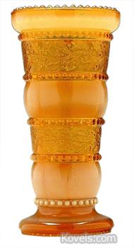 holly amber vase