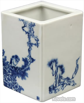wang bu chinese vase