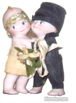wedding kewpie dolls