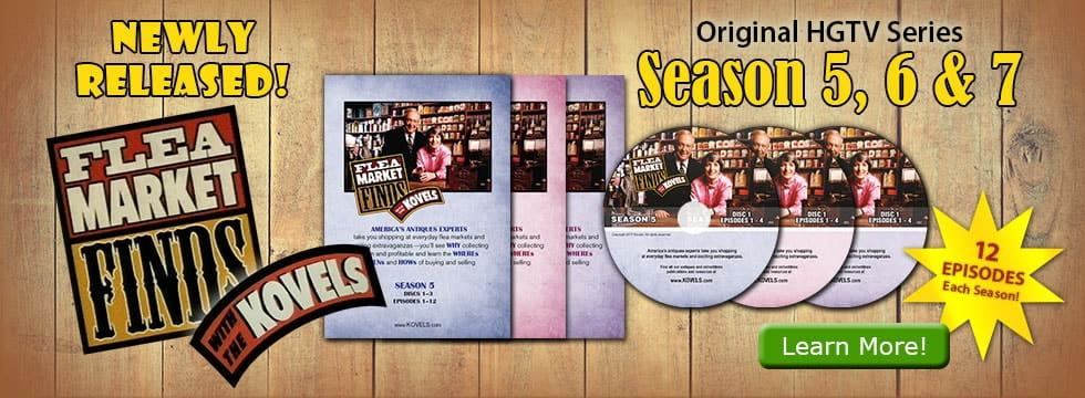 Flea Market Finds with the Kovels DVD Combo: Seasons 5, 6 & 7