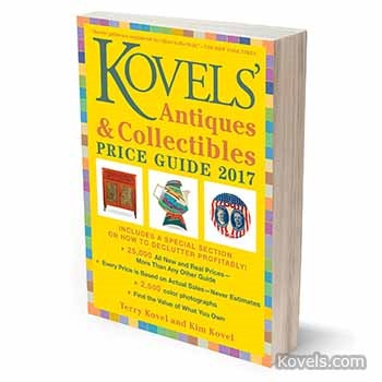 Kovels' All-New 2017 Price Guide is Here!