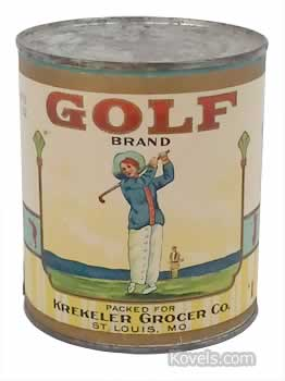 Golf Brand Tomatoes Label