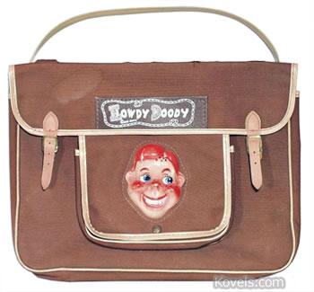 Howdy Doody Book bag