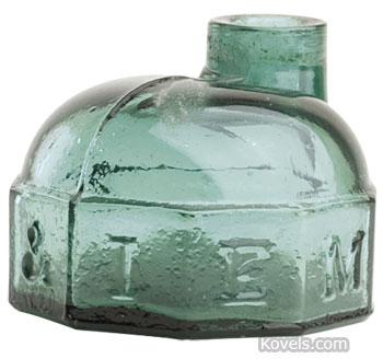 Turtle ink bottle