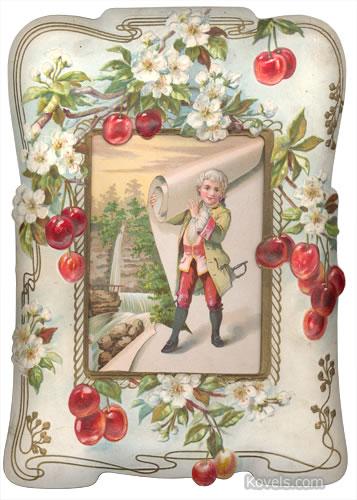 George Washington's Birthday Print