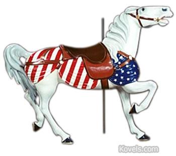 cleveland euclid beach carousel horse