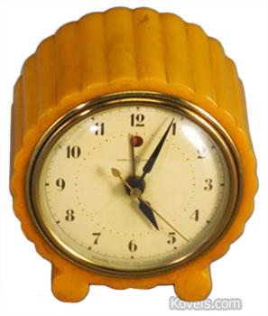 Bakelite alarm clock